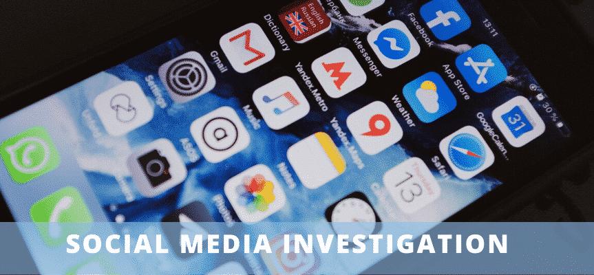 social media investigation